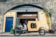 Mackinnon... Hackney's secret - deliver delicious sourdough bread baked at e5 bakehouse, by bike!