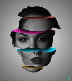 Graphic Design Trends, Graphic Design Posters, Graphic Design Illustration, Illustration Art, Creative Photoshop, Photoshop Design, Arte Gcse, Magdiel Lopez, Photo Composition