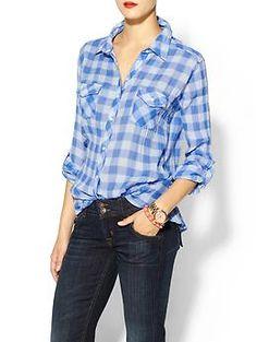 C California Aloha Check 2 Pocket Shirt | Piperlime.  long sleeve plaid w/jeans