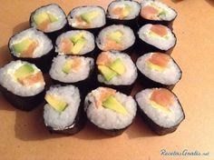Receta de Arroz para sushi - RecetasGratis.net