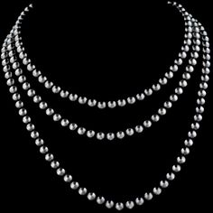 1c7e5640a Antiqued, Matte Finish 8mm Sterling Silver Beaded Necklace. Vogt  Silversmiths understands accessories and is
