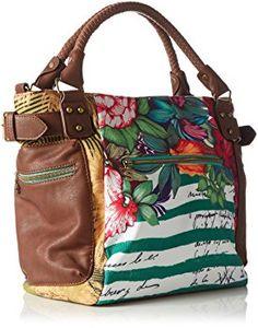 Desigual Mcbee Mentawai - Bolso para mujer, color new green