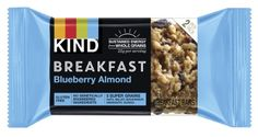 KIND Breakfast Bar, Blueberry Almond, 1.8 Oz, 4 Ct