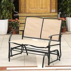 outdoor 3 seat glider