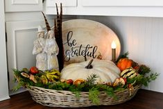 Vintage Thanksgiving Greetings and Verses of Gratitute – Follow The Yellow Brick Home