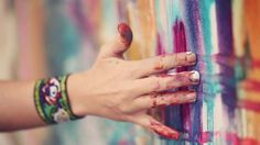 Loveeee this video // Flora Bowley ~ Brave Intuitive Painting