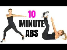 AT HOME WORKOUT 10 MINUTE ABS - with standing ab exercises and tips on how to lose belly fat - YouTube
