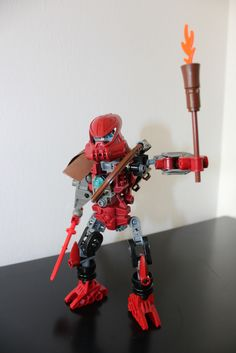 Taito - Matoran/Toa of Fire http://www.flickr.com/photos/142731206@N07/30563447526/