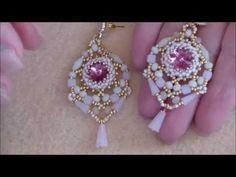 Tutorial orecchini Rose - YouTube