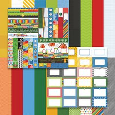 School Days by Katie Pertiet Bundle - Set 10