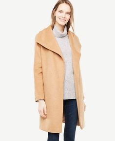 Shop Ann Taylor for effortless style and everyday elegance. Our Wrap Coat is the perfect piece to add to your closet.