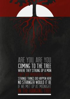 Hunger Games, Mockingjay's Hanging Tree // IF THEY CUT THIS FROM MOCKINGJAY IT WONT END WELL.