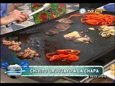 Chivito uruguayo a la chapa - YouTube