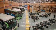 Daimler ahora fabrica chasis de autobuses Mercedes-Benz en Colombia