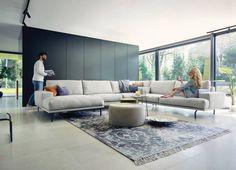 Hoekbank Matisse Cartel Living Spinde Next Zwolle Dealer Home Building Design, Building A House, Living Room White, Living Room Decor, Matisse, Interior Exterior, Interior Design, Dining Bench, New Homes