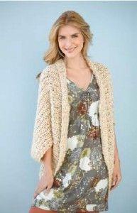 Jersey sencillo a crochet - Patrón <3