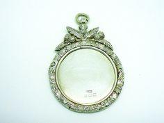 Solid Silver Medal Medallion Sterling Scottish by DartSilverLtd