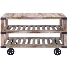Roma Rustic Console Table