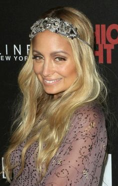 Nicole Richie's boho chic headpieces are always a showstopper.