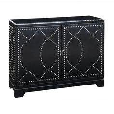 nailhead trim for tv stand (love pattern)