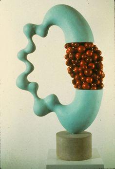 John Newman  Sculpture - 1990-2001 Limestone, plastic and coated styrofoam