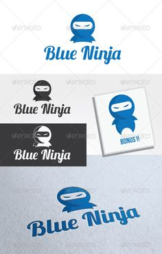 Blue Ninja Logo Template #GraphicRiver Blue Ninja Logo is An excellent logo template highly suitable for logo company, secret agent, security company, blog, mascot. These files onsists of resizable vector format files like AI, EPS , and PDF . Also PSD format for raster version alternative. Font that used in this logo is Lobster (free) can download here Created: 9July12 GraphicsFilesIncluded: PhotoshopPSD #VectorEPS #AIIllustrator Layered: No MinimumAdobeCSVersion: CS Resolution: Resizable…