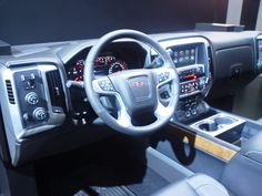 2014 GMC Sierra Interior @ NAIAS in Detroit