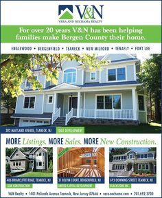 #Newconstruction might be the best choice for you! Call us to schedule a tour. V & N Realty - 201-692-3700  More Listings. More Experience. More Sales. #teaneck #bergenfield #newmilford #realestate #veranechamarealty #njrealestate #realtor #homesforsale - http://ift.tt/1QGcNEj