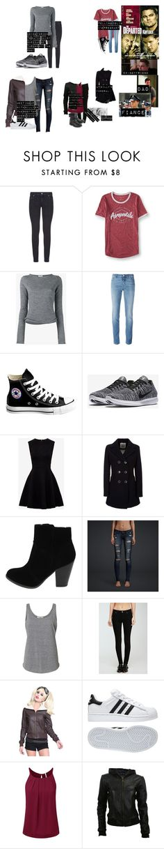 """""""me in: 'the departed'"""" by j-j-fandoms ❤ liked on Polyvore featuring Paige Denim, Aéropostale, Acne Studios, Givenchy, Converse, NIKE, Ted Baker, Geox, Hollister Co. and Forever 21"""