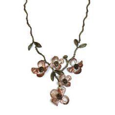 Silver Seasons - Michael Michaud - Dogwood Necklace | SattvaGallery.com