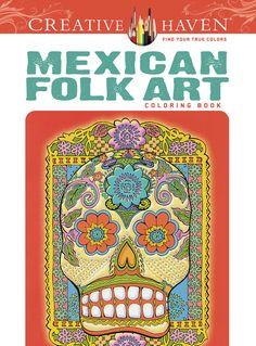 I have this one and love it. [Creative Haven Mexican Folk Art Coloring Book]