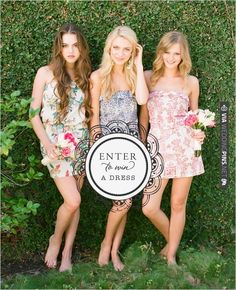 Win a Dress from Plum Pretty Sugar Loungerie. | CHECK OUT MORE IDEAS AT WEDDINGPINS.NET | #weddingfashion