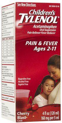 Children's Tylenol Fever Reducer