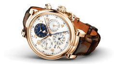 IWC's Notable New Watch Takes Its Shape from the Brand's Original Da Vinci Model