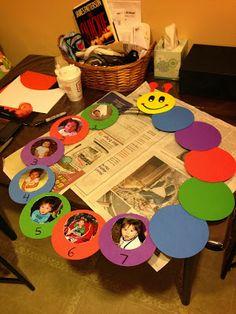 The Crafty Mom : Baby Einstein First Birthday Party Theme