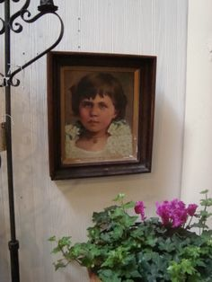 A sweet vintage painting