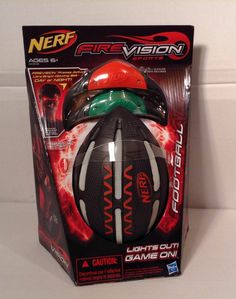 Nerf Firevision Sports Football Hasbro Glasses Glowing