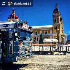 Follow @damiano862: #Granada #Nicaragua #Cathedral - #ILoveGranada #AmoGranada #Travel