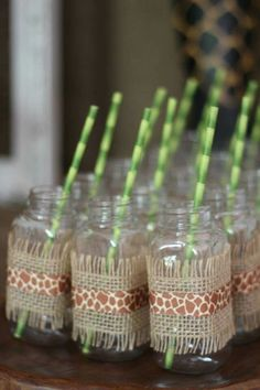Walk on the Wild Side with a Safari Birthday Party - Jungle Themed Party Supplies for a Safari Party www. Jungle Book Party, Jungle Theme Parties, Jungle Theme Birthday, Safari Theme Party, Safari Birthday Party, First Birthday Parties, Monkey Birthday, Animal Birthday, Themed Parties