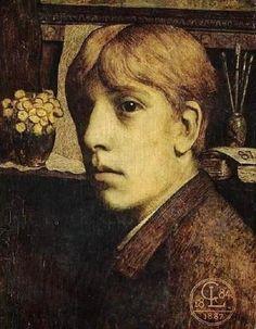 Georges Lemmen | Autoportrait 1884