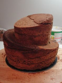 Topsy Turvy Torte, Festa Monster Truck, Bike Cakes, Cupcake Cakes, Cupcakes, Gravity Cake, Cake Templates, Ballerina Cakes, Hand Painted Cakes