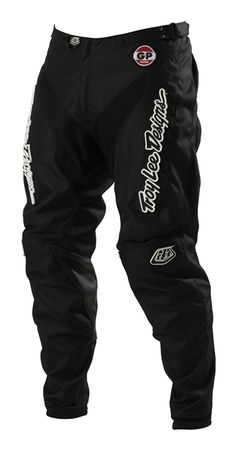 New troy lee designs gp midnight hot rod mx dirt bike pants black