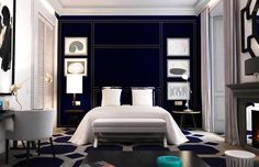 Lazaro Rosa Violan design at Only You Hotel, Madrid.