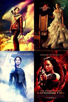 Hunger Games Posters / Catching Fire / Katniss