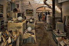 Barbara Hepworth's studio, St. Ives Cornwall
