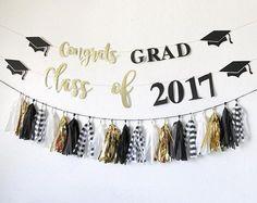 Graduation Banner Congrats Grad Banner Class of 2017 Graduation Desserts, Graduation Banner, Graduation Year, Graduation Decorations, Graduation Celebration, Graduation Pictures, Congratulations Banner, Congratulations Graduate, 2017 Banner