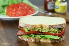 Sanduíche BLT com guacamole « chezbianca
