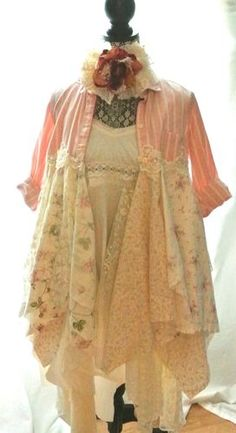 Shabby Lace Duster