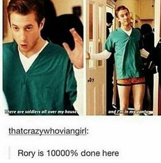 Rory is my favorite Doctor Humor, Doctor Who Quotes, Rory Williams, Don't Blink, Eleventh Doctor, Torchwood, Matt Smith, My Tumblr, David Tennant
