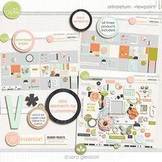 Arboretum {Viewpoint} by Sara Gleason pocket sub lily pad